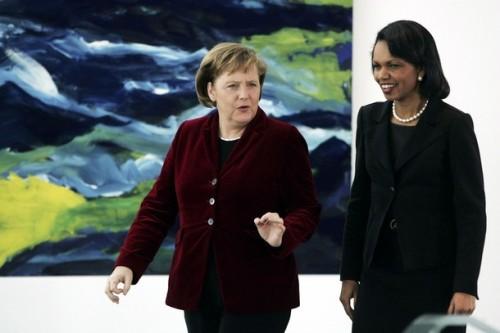Merkel Condoleeza